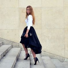Aliexpress.com : Buy 2015 New Fashion Summer Casual High Low Tiered Woman Tulle Satin Skirt Solid Natural Color Girl Gown Tutu Skirt Women from Reliable skirt baby suppliers on Amazing Life Amazing Wedding   Alibaba Group