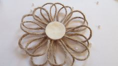 How To Make a Cute Twine Flower - DIY Crafts Tutorial - Guidecentral
