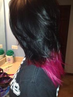 DIY: How To Pink Dip Dye #hair #dipdye #HappyGirlJournal #pink #DIY