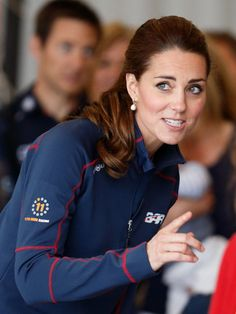 Pin for Later: These Are the Earrings That Kate Middleton Wears With Everything July 2015 Attending the America's Cup World Series.