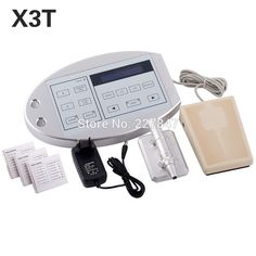 CHUSE X3T Permanent Makeup Tattoo Machine kits Professional Digital Machines Eyebrow Lip Body Pen Machine Sets 3D Embroidery
