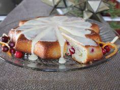 Orange Cranberry Pound Cake for the holidays!