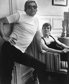 Blake Edwards and Julie Andrews, happily married for 41 years until his death in 2010