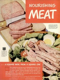 canned meat ad, LIFE, May 3, 1948