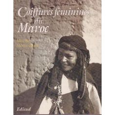 Mereille Morin Bard took on the task of creating this scientific and artistic documentation between 1950 and 1952.  The often sculpture-like hairstyles and rich ornaments found in this book are ways of identifying tribes or ethnic groups often dispersed geographically ;markings maintaining autonomy. The women in this book are of  Berber/Amazigh, Jewish and Arab origins,  south of the high Atlas mountains.