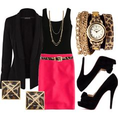 """Layer Me Leopard"" by qtpiekelso on Polyvore"