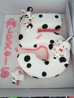 Dalmation cake for my daughter