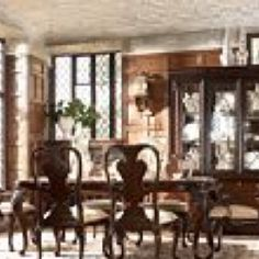 Thomasville Furniture Ernest Hemingway Anselmo Rectangular Dining