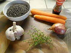 Lentilles au thermomix
