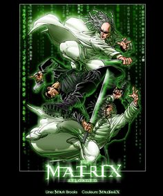 The Matrix Reloaded by MastaHicks.deviantart.com on @DeviantArt