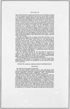 Celebrating African Heritage Month - The Civil Rights Act of 1964 (page 2)