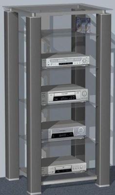 31 best audio racks images audio rack home entertainment rh pinterest com