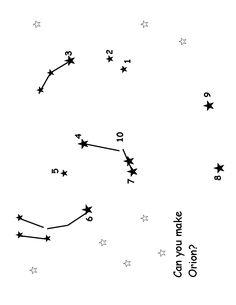 montessorimom com constelation dot to dot homeschool pinterest