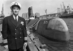 Eugene Parks Dennis Wilkinson the first commander of the world's first nuclear submarine in 1954, the USS Nautilus