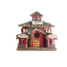 Wooden Bird Houses, Decorative Bird Houses, Log Houses, Fairy Houses, Wooden House, Bird House Feeder, Bird Feeders, Bird Nests, Birdhouse Designs