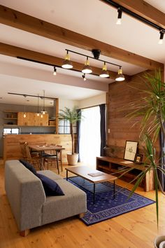 The best living room lighting ideas for your favorite home Living Room Tv, Apartment Living, Home And Living, Living Spaces, Plywood Furniture, Design Furniture, Small House Interior Design, House Design, Interior Modern