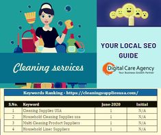 If you've been having trouble letting people know that your cleaning service  business is awesome, then you've come to the right place. We Digital Marketing Heroes show the world how good your cleaning service business is,through highly targeted, and measurable results in real-time.   #dca #digitalcareagency# seoexpert #searchengineoptimization  #hightraffic #webdevelopment Care Agency, Keyword Ranking, Seo Guide, Website Optimization, Local Seo, Digital Marketing Services, Cleaning Service, Web Development, Web Design