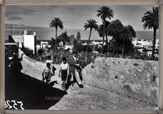 Gran Canaria - Risco de San Nicolás año 1932 #fotoscanariasantigua #tenerifesenderos #fotosdelpasado #canariasantigua #canaryislands #islascanarias #blancoynegro #recuerdosdelpasado #fotosdelrecuerdo