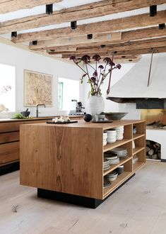 ( Kitchen images via Garde Hvalsøe ) Welcome to the dreamy kitchen of  Danish chef René Redzepi  located in the colorful neighborhood of Christianshaven , Copenhagen. I'll give you a moment t…