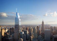 New York by Kohn Pedersen Fox Associates in New York, United States