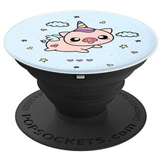Featuring a cute Unipig Pig Unicorn, this Piggycorn popsocket is the perfect Pig Lovers Gift idea for children kids girls teens tweens or anyone who loves Pigs and Unicorns. Unipig Pig Unicorn designs are perfect for anyone looking for pig gifts for pig lovers or anyone you know who might like a Piggycorn Unipig Pig Unicorn design.