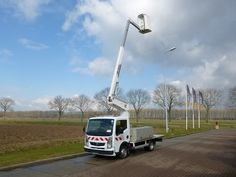 For sale: Used and second hand - Van RENAULT Scissor manlift MAXITY 110-35