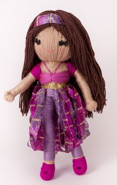 """Scheherazade from """"Yarn Whirled: Fairy Tales, Fables, and Folk Tales""""."""