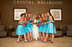 The #bride and her #bridalparty at the Crystal Ballroom. #bridesmaids #maidofhonor www.CrystalBallroomNJ.com Photo by Absolute Events www.AbsoluteEvents.biz #wedding #nj #newjersey #venue #ballroom #catering #Freehold #monmouthcounty #bride #groom #marriage