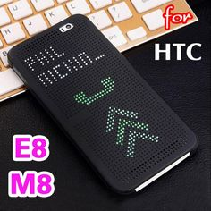 Slim Dot Bag Smart Auto Sleep Wake View Shell Soft Silicone Original Flip Leather Cover Shockproof Case For HTC One / Htc One M8, Smart Auto, Mobile Phone Cases, Cell Phone Cases, Soft Shell, Cool Electronics, Flip, Silicone Phone Case, Leather Cover
