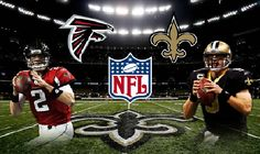 Saints vs Falcons football game live