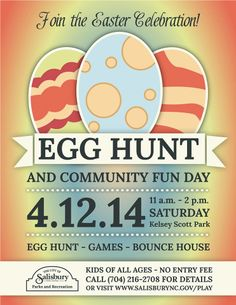 Egg Hunt and Community Day 2014
