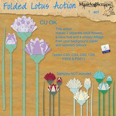 Folded Lotus Action
