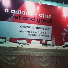 Meet and greet ajax amsterdam come in jakarta.