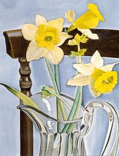 Lucian Freud: Daffodils and Celery, 1948.