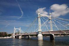 Albert Bridge, London, England