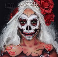 Skull candy make up