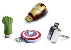 InfoThink x Marvels The Avengers Flash Drives - $140 for 8GB.