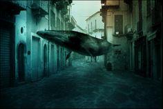 underwater town
