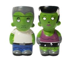 Zombie Salt and Pepper Shakers   SOURPUSS Frankenstein ZOMBIE Salt n Pepper Shakers Goth GIFT Preview