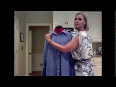 """http://fashiontoppings.blogspot.com  http://fashiontoppings.tumblr.com .   In this video I refashion a men's dress shirt into a dress with puff sleeves and a bias tape neckline.  I hope you enjoy this, and share it with all your friends.  Hit """"thumbs up"""" if you like and leave me a comment.  Happy Thrifting!"""