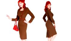 Military Dress - Bettie Page Clothing Celebrity Photos, Celebrity News, Celebrity Style, Bettie Page Clothing, Military Dresses, Myrna Loy, Jean Harlow, Joan Crawford, Wardrobes