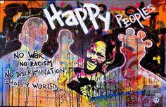 Happy peoples