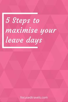 Make the most of your leave days | focusedtravels Planning Your Day, Trip Planning, Event Planning, 4 Day Weekend, Quick Weekend Getaways, Annual Leave, Vacation Days, Have A Day, Travel Dating