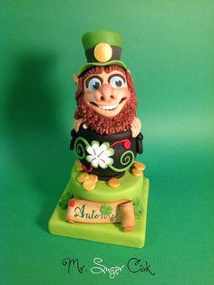 per una festa a tema Biancaneve questo splendido gnometto fatto da Mr Sugar Ciok https://www.facebook.com/pages/Mr-Sugar-Ciok/423141951110325?sk=timeline