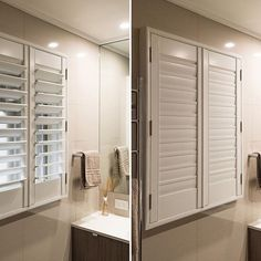 Custom made shutters!? ✅ In a bathroom!? ✅ Privacy, light block, versatility ✅ it's been a bit cooler here in #Melbourne the last few days...but now is still the time to get organised for your summer blinds! Call us for your free quote! 98802500 #practicalandgoodlooking #design #melbournearchitecture #blindsmelbourne #blinds #shutters #interiordesign #interiorsmelbourne