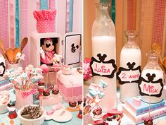 Mini Mouse birthday party