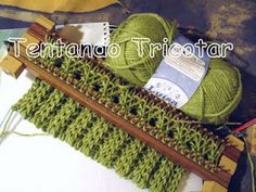 Tentando Tricotar: Projeto novo no tear de pregos                                                                                                                                                      Mais