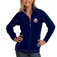 New York Islanders Antigua Women's Ice Full Zip Jacket - Royal - $79.99