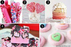 Valentines Day Pink Treats