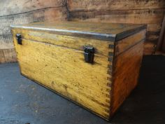 1930's Tool Chest by VintageWoodenBoxes on Etsy
